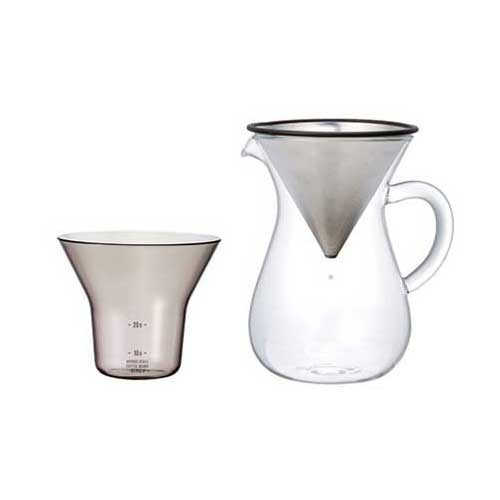Kinto Carafe Stainless Steel 300ml (27620)