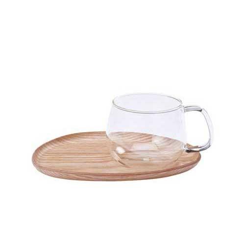Kinto Fika Cafe Sweets Wood Glass (22583)
