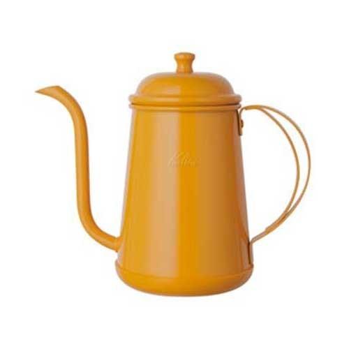 Kalita Narrow Mouthed Pot Kettle 0.7L (Yellow)