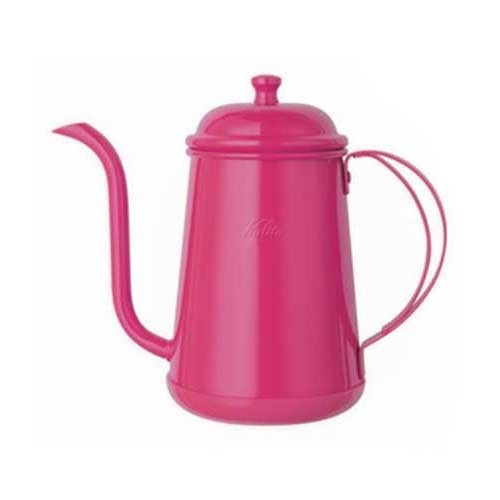 Kalita Narrow Mouthed Pot Kettle 0.7L (Pink)