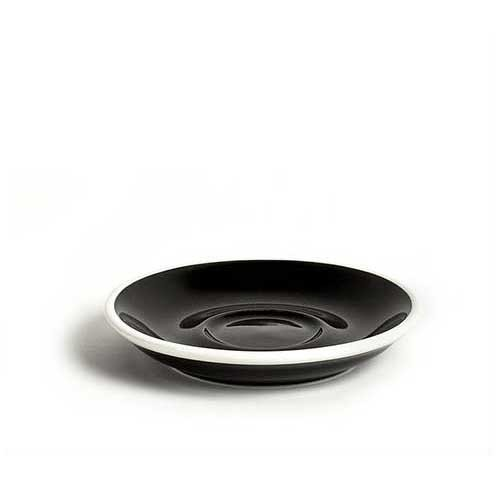 ACME - Demitasse Saucer 11cm Black (Penguin)