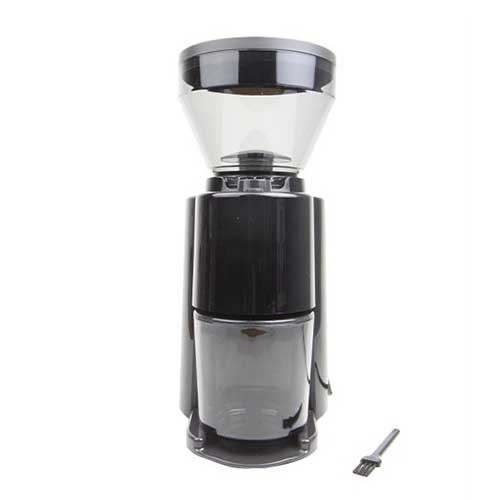 Welhome Coffee Grinder Conical Burr with Timer ZD-10T Black