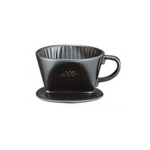 Kalita 101 Ceramic Dripper Black