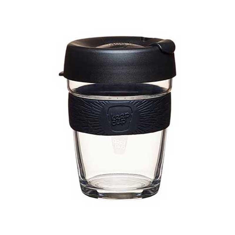Keep Cup Black Medium - 340ml (12oz)