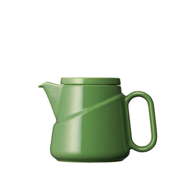 Kinto - Ridge Teabag Teapot Green (23576)