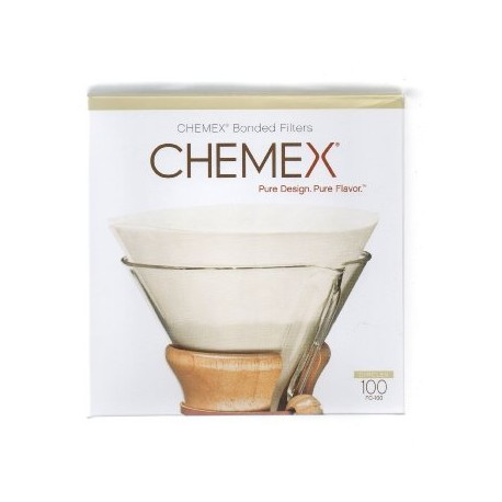 Chemex Bonded Filters Pre-Folded Circles (FC-100)
