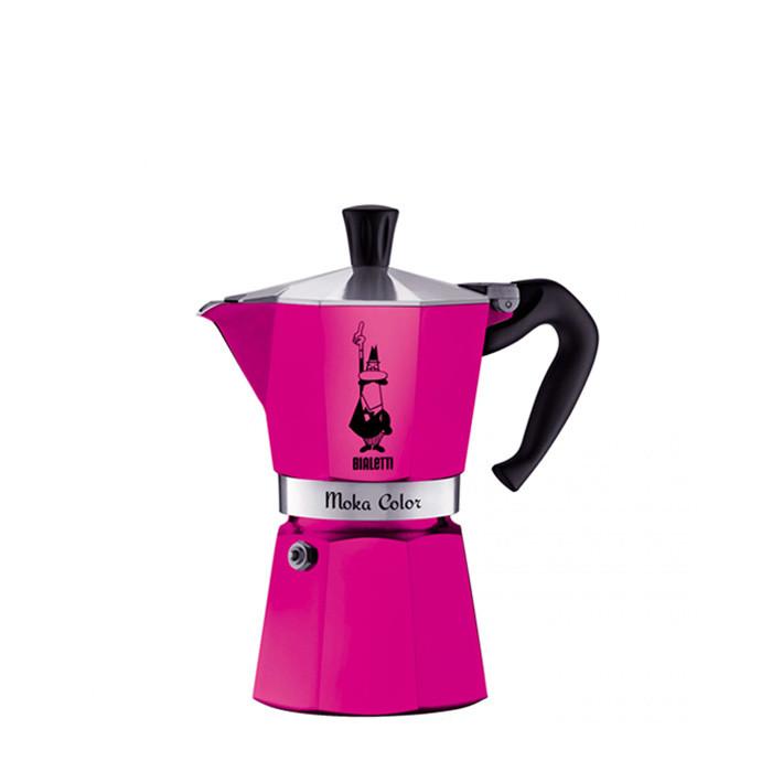 Bialetti Moka Color Fucsia 6 Cups