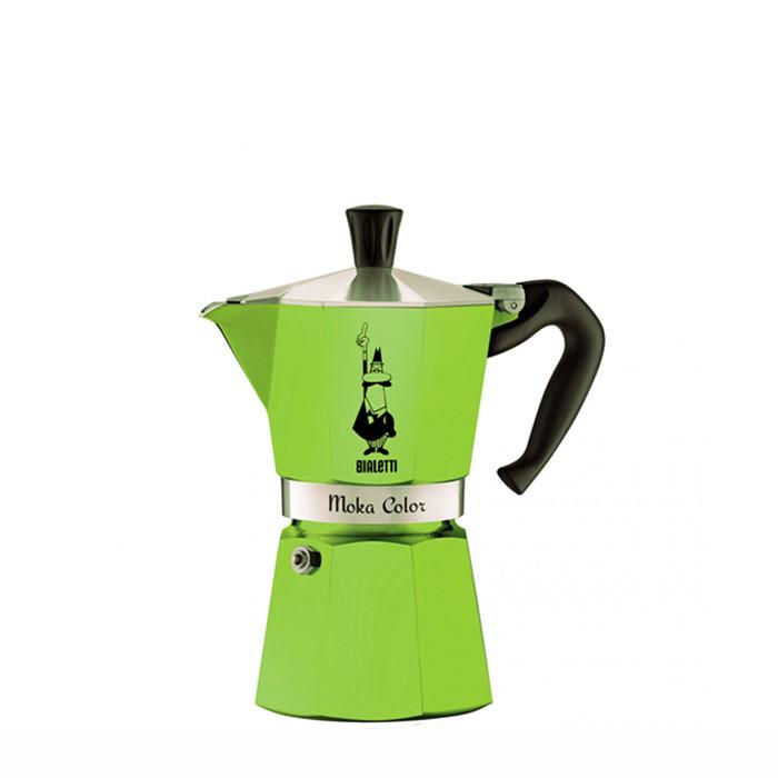 Bialetti Moka Color Green 6 Cups