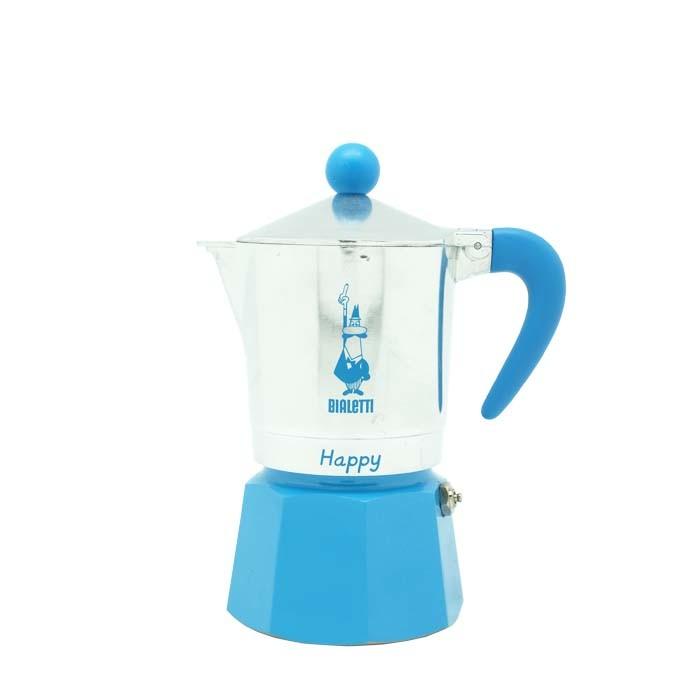 Bialetti Happy Azurra 3 Cups