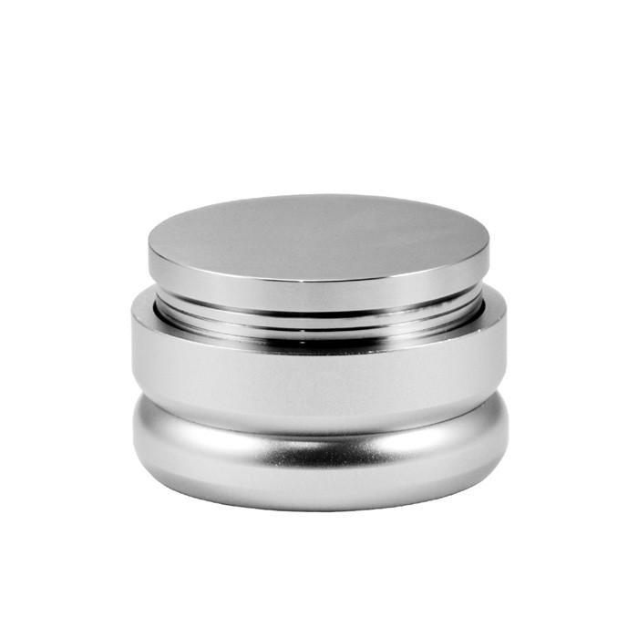 Macarons - Coffee Flat Tamper 58mm (Silver)