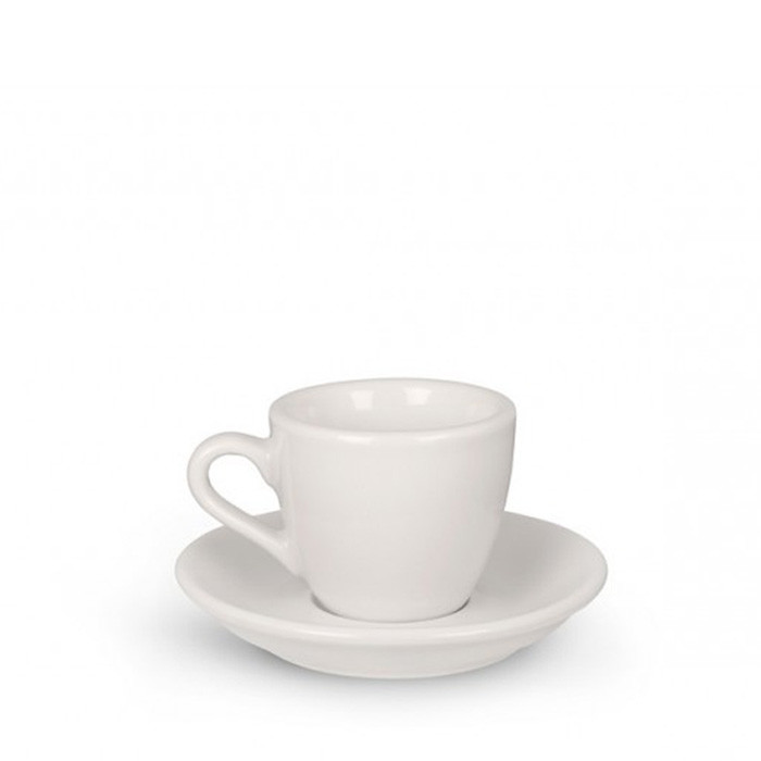 ACME - Demitasse Cup 70ml with Saucer White - Otten Coffee: Sell Coffee  Machine, Grinder & Tools