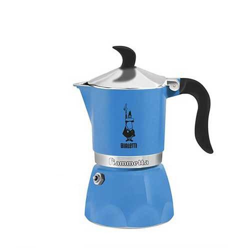Bialetti New Fiammetta Light Blue 3 Cups