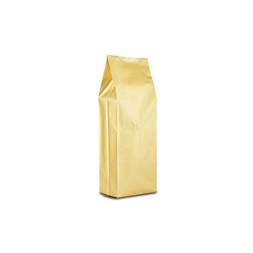 Coffee Bag 500G Gusseted Gold (10pcs)
