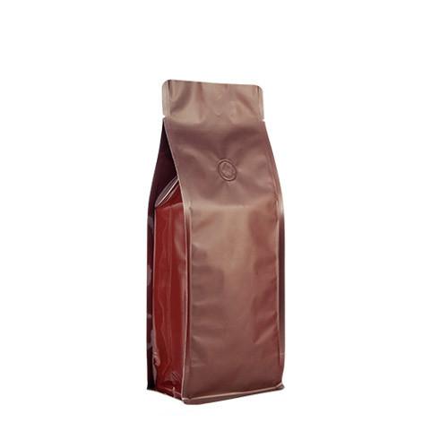 Coffee Bag 500G Box Pouch Brown (10pcs)