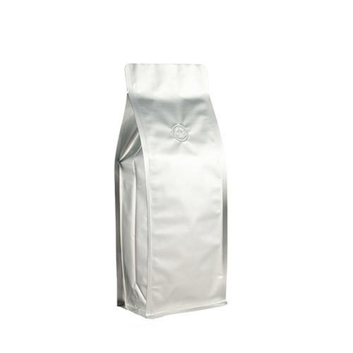 Coffee Bag 500G Box Pouch Silver (10pcs)