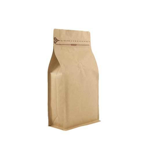 Coffee Bag 500G Box Pouch with Zipper Kraft (10pcs)