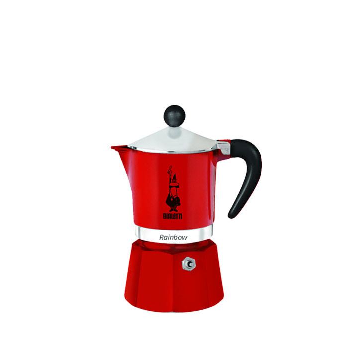 Bialetti Rainbow Red 1 Cup