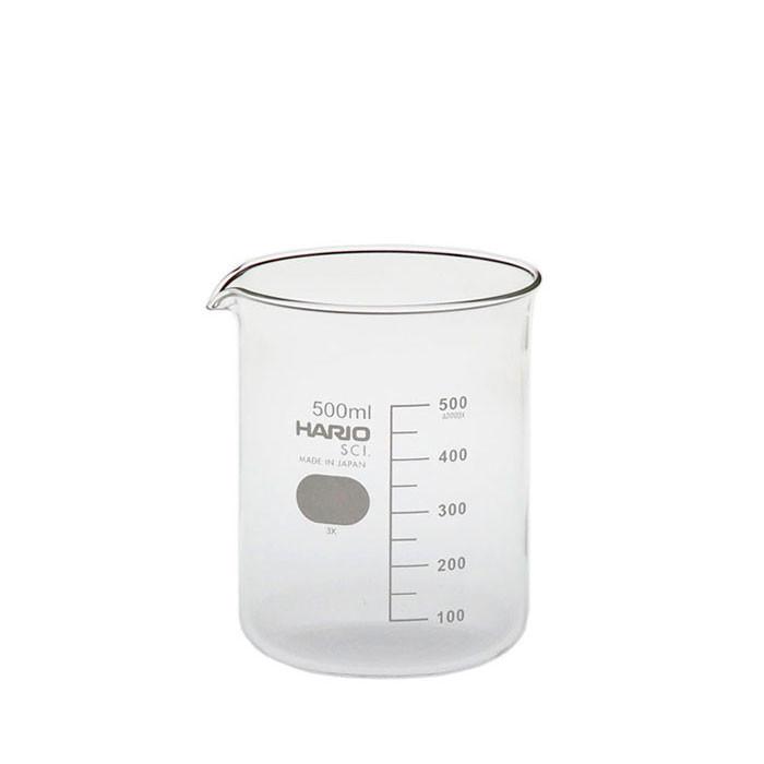 Hario - Glass Beaker 500ml (B-500 SCI)