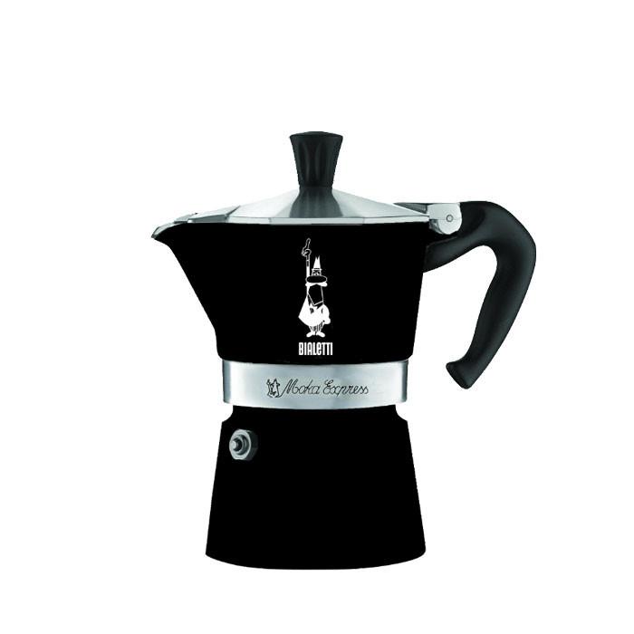 Bialetti Moka Express Hypnotic Black 3 Cups