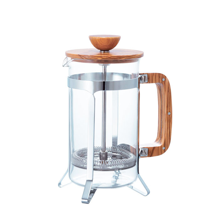 Hario - French Press Wood 4 Cups CPSW-4-OV