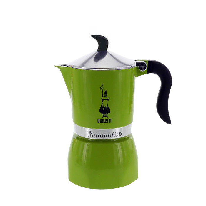 Bialetti New Fiammetta Green 3 Cups