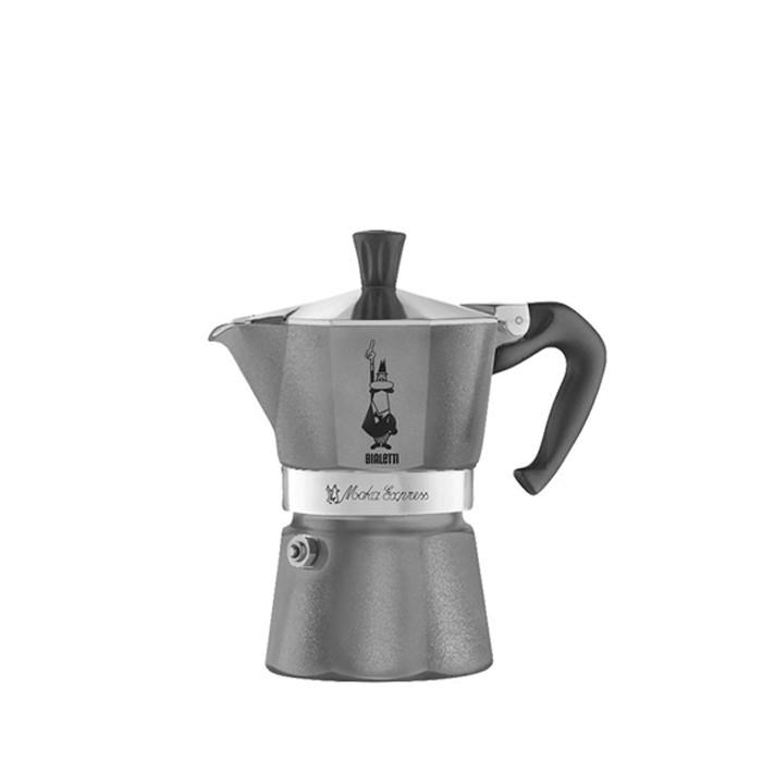 Bialetti Moka Express Diamond Grey 1 Cup