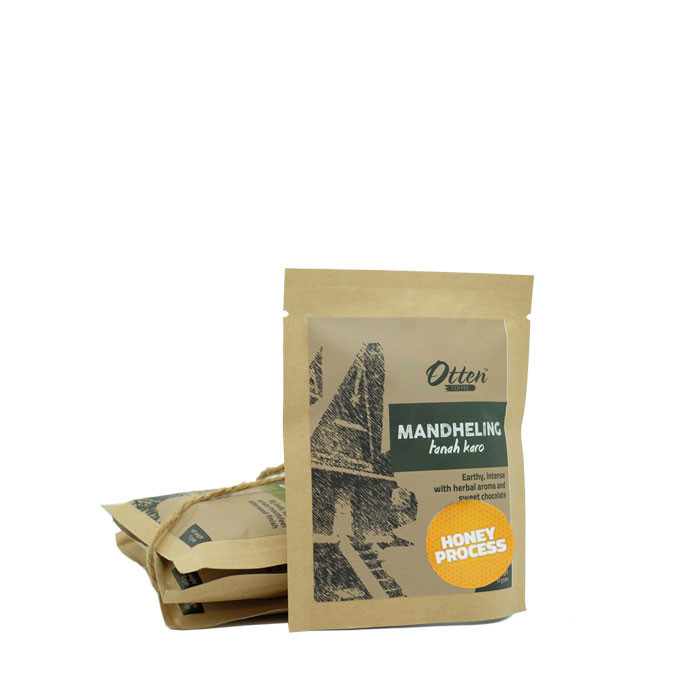 Drip Coffee 10g Arabica Mandheling Honey Process (4 Sachet)