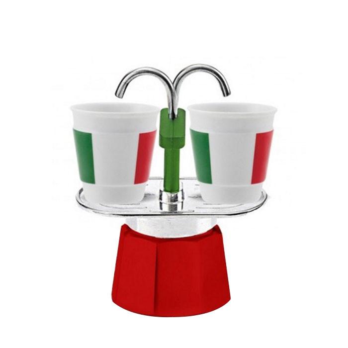 Bialetti - Mini Express Set Italia (2 Cups)