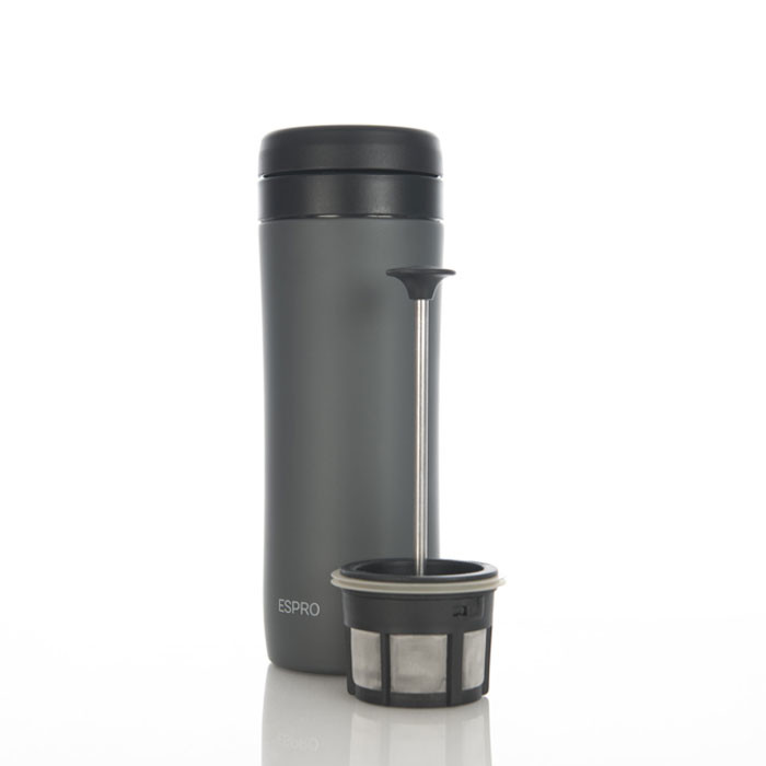 Espro Coffee Travel Press Gunmetal Grey