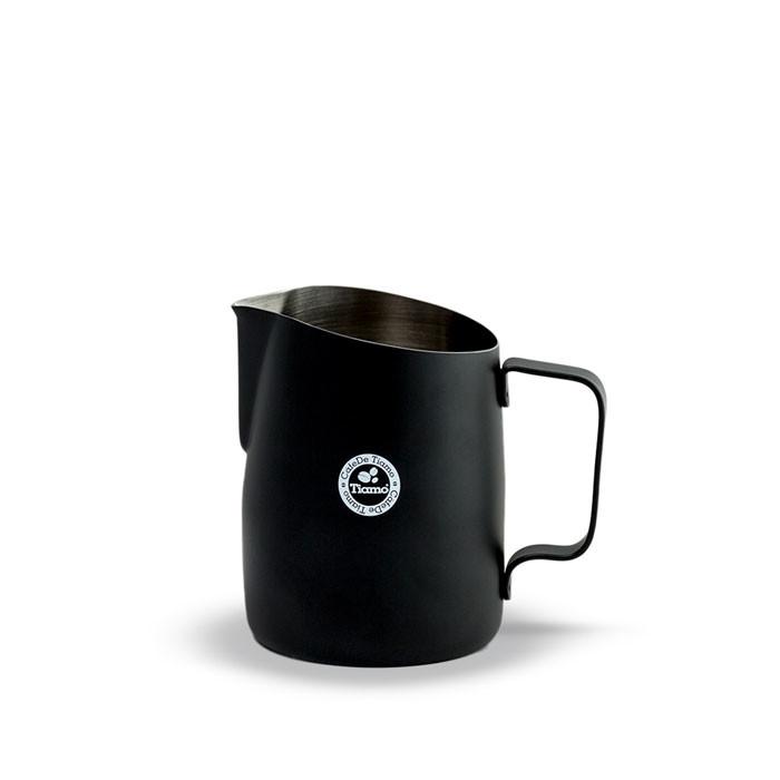 Tiamo - Tapered Milk Jug 450ml Matte Black (HC7107BK)