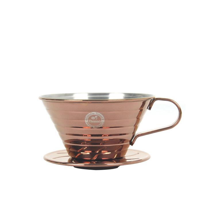Tiamo - K01 Stainless Steel Coffee Dripper 1-2 Cups (HG5049BZ)