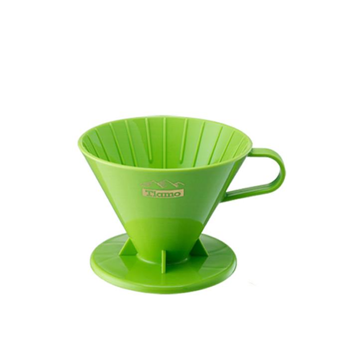 Tiamo - V02 Coffee Dripper Green 2-4 Cups (HG5277)