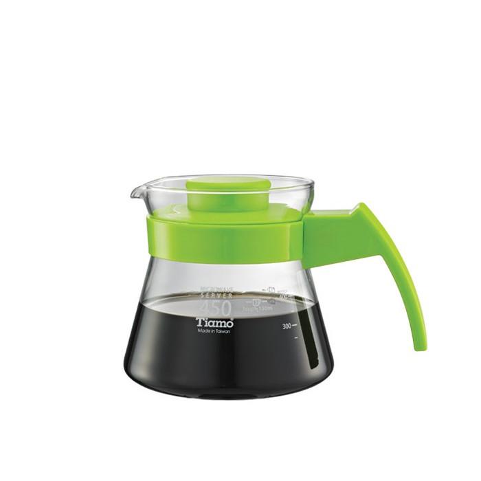 Tiamo - Coffee Server 450cc Green (HG2210G)