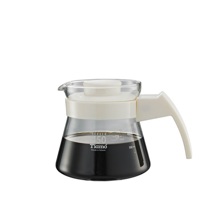 Tiamo - Coffee Server 450cc White (HG2210W)