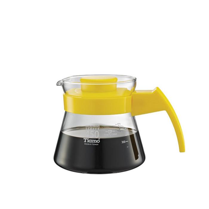 Tiamo - Coffee Server 450cc Yellow (HG2210Y)
