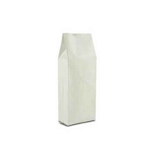Coffee Bag 500G Gusseted White (10pcs)