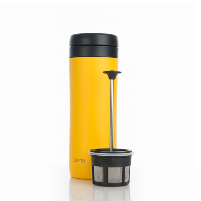 Espro Coffee Travel Press Sunshine Yellow