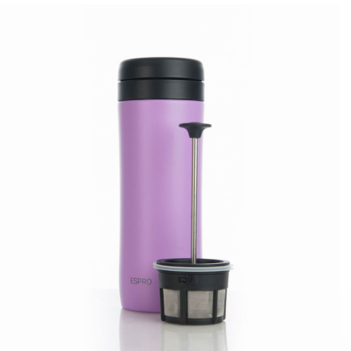 Espro Coffee Travel Press Violet Purple