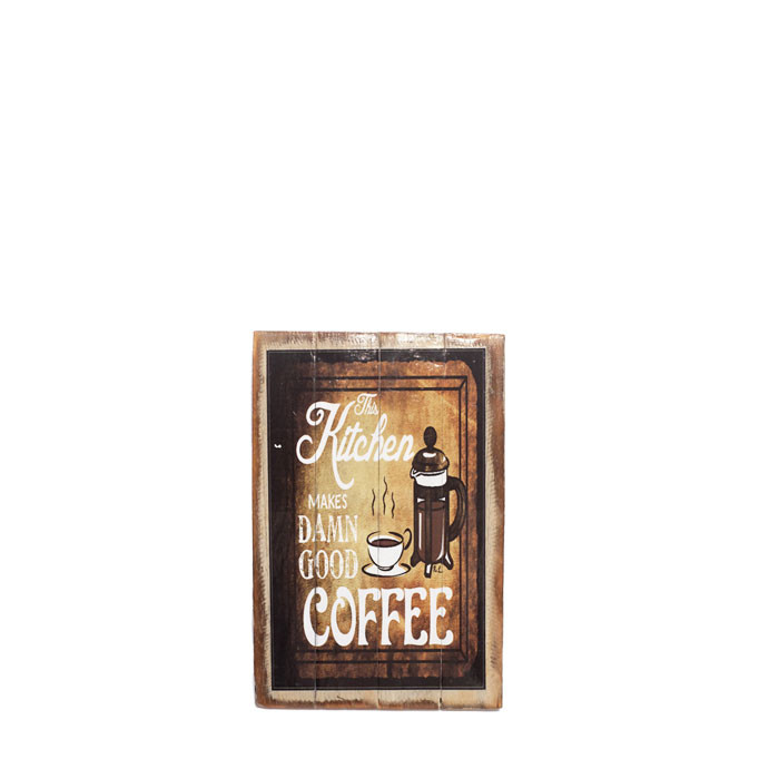 Artworks - The Kitchen Makes Damn Good Coffee (Small)