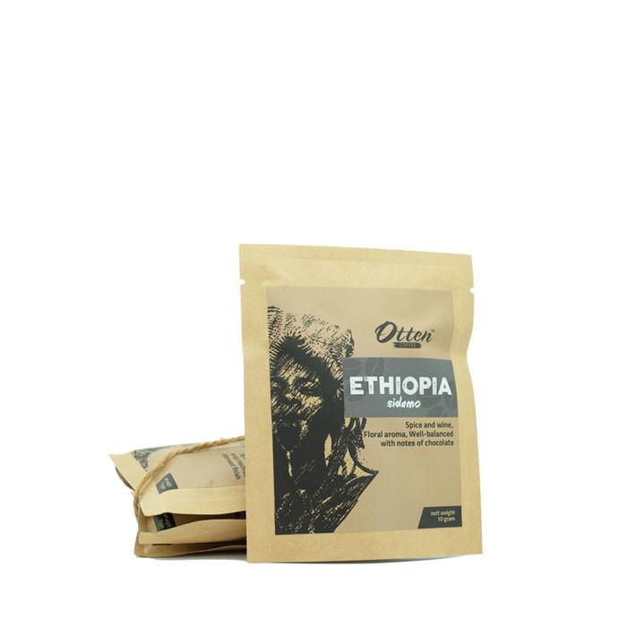 Drip Coffee 10g Arabica Ethiopia Sidamo (4 Sachet)