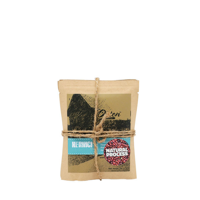 Drip Coffee 10g Arabica Kerinci Kayu Aro Natural Process (4 Sachet)