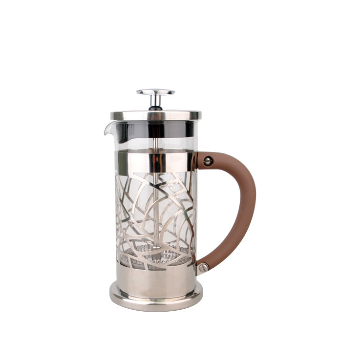 French Press 350ml (Brown Handle)
