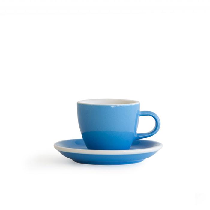 ACME - Demitasse Cup 70ml with Saucer Blue (Kokako)