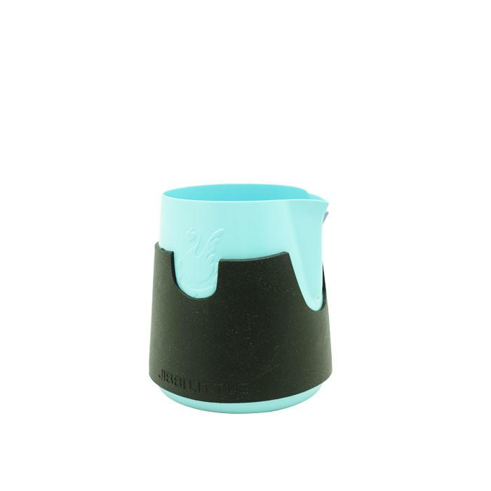 Jibbi Jug - Ninja 0.8 400ml (Baby Blue Teflon + Silicone Black)