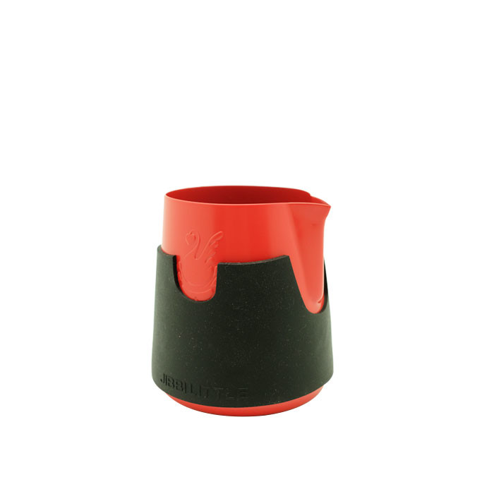 Jibbi Jug - Ninja 0.8 400ml (Red Teflon + Silicone Black)