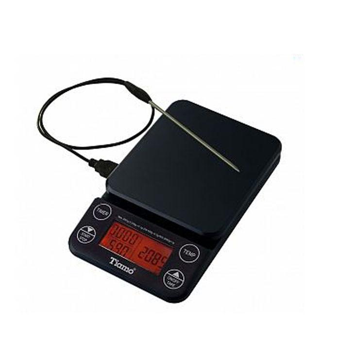 Tiamo - Drip Scale w/ Thermometer (HK0519BK)