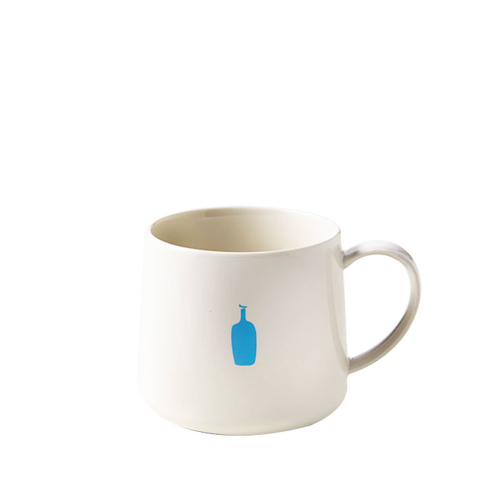 Blue Bottle - Mug White