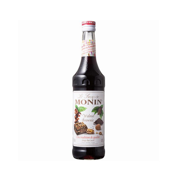 Monin Syrup Walnut Brownie