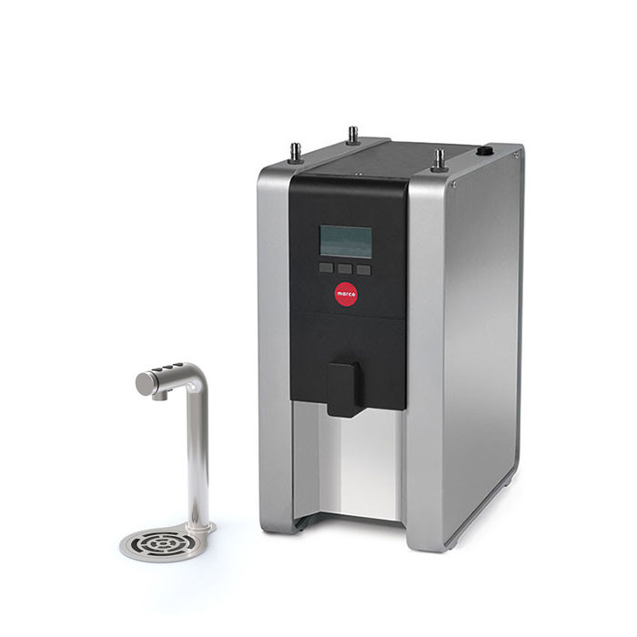 Marco - MIX UC3 Undercounter Hot Water Boiler Machine with 3 Button Font and Drip Tray