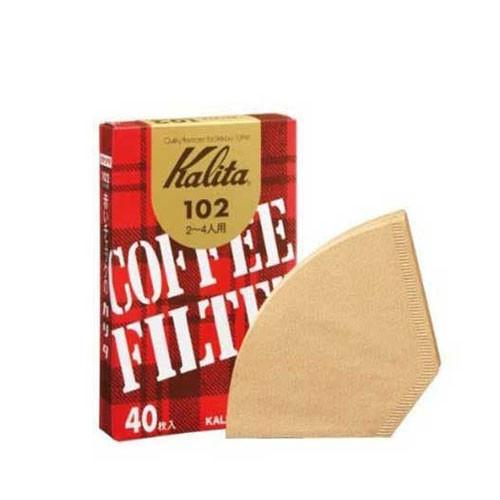 Kalita Paper Filter 102 Brown (40 P)